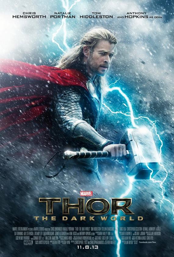 El póster promocional del filme Thor 2