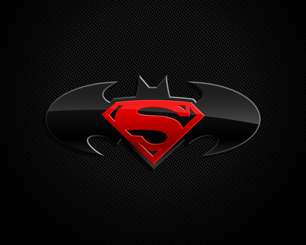 Superman Batman logotipo 4x4