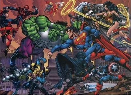 Marvel Vs DC poster